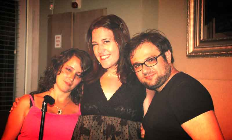 Jewish Matchmaker Jessica Fass with happy couple